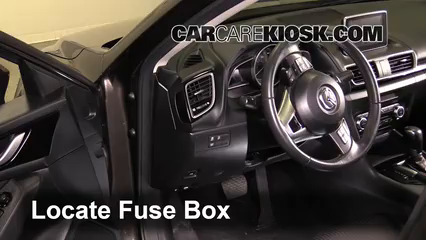 interior fuse box location: 2014-2016 mazda 3 - 2014 mazda ... mazda 3 fuse box location 2004 mazda 3 fuse box location