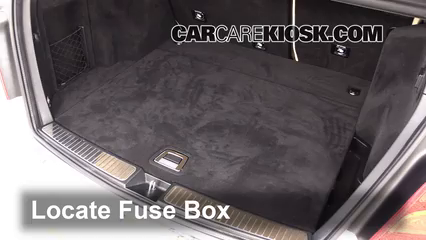 Interior Fuse Box Location 2010 2015 Mercedes Benz GLK350