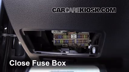 Interior Fuse Box Location 2013 2015 Nissan Altima 2014
