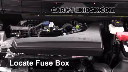 replace a fuse: 2014-2016 nissan rogue - 2014 nissan rogue ... nissan rogue fuse box location 2009 nissan rogue fuse box