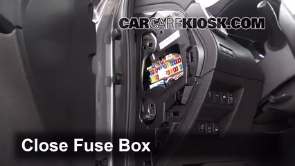2014 Nissan Rogue SL 2.5L 4 Cyl.%2FFuse Interior Part 2 fuse box nissan juke fuse wiring diagrams collection GS650 Cafe at virtualis.co
