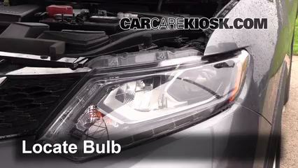 Nissan Murano Headlight Bulbs Replacement Guide 2009 To