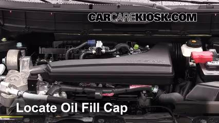 Oil Amp Filter Change Nissan Rogue 2014 2016 2014 Nissan