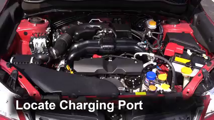 Ac Blowing Hot Air >> How to Add Refrigerant to a 2014-2016 Subaru Forester ...