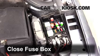 replace a fuse 2011 2016 volkswagen jetta 2014 volkswagen jetta 6 replace cover secure the cover and test component