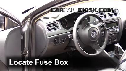 2011-2016 Volkswagen Jetta Interior Fuse Check - 2014 ...