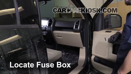 interior fuse box location 2015 2016 ford f 150 2015 1995 ford f350 fuse panel diagram #15