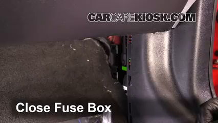 interior fuse box location 2015 2016 ford mustang 2015. Black Bedroom Furniture Sets. Home Design Ideas