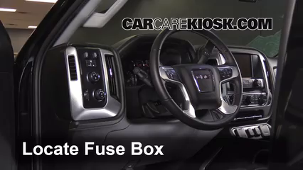 interior fuse box location 2014 2016 gmc sierra 2500 hd 2015 interior fuse box location 2014 2016 gmc sierra 2500 hd 2015 gmc sierra 2500 hd 6 0l v8 flexfuel extended cab pickup