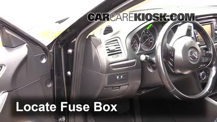 interior fuse box location 2014 2016 mazda 6 2015 mazda. Black Bedroom Furniture Sets. Home Design Ideas