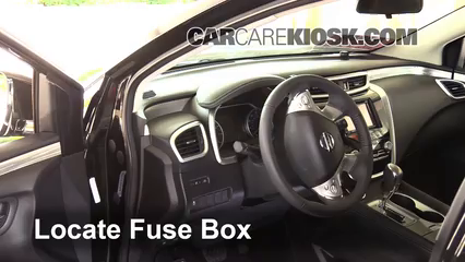 2015 2016 nissan murano interior fuse check 2015 nissan. Black Bedroom Furniture Sets. Home Design Ideas