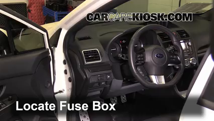 interior fuse box location 2013 2016 subaru wrx 2015 subaru wrx interior fuse box location 2013 2016 subaru wrx 2015 subaru wrx limited 2 0l 4 cyl turbo
