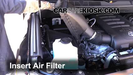 Air Filter HowTo 20142016 Toyota Tundra  2015 Toyota Tundra