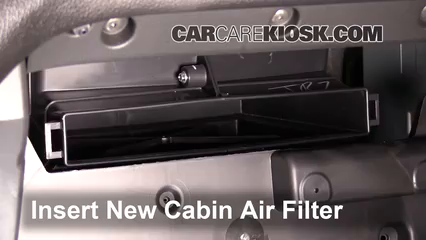 Cabin filter replacement chevrolet colorado 2015 2016 for Chevy express cabin air filter location