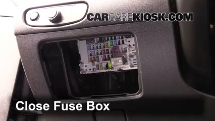 Interior Fuse Box Location 2016 2016 Chevrolet Malibu