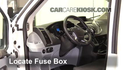 Interior Fuse Box Location 2015 2016 Ford Transit 350 HD