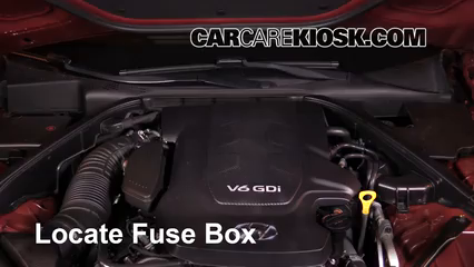 2016 Hyundai Genesis 3.8 3.8L V6%2FFuse Engine Part 1 replace a fuse 2015 2016 hyundai genesis 2016 hyundai genesis 2010 hyundai genesis fuse box at eliteediting.co