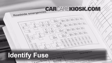 Check on fuse box for 2008 dodge grand caravan